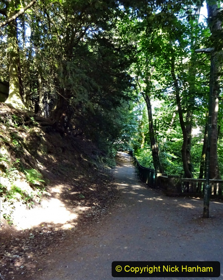 2020-05-27 Covid 19 Walks Alum Chine - Robert Louis Stevenson - View Point - Parkstone Heights. (14) 014