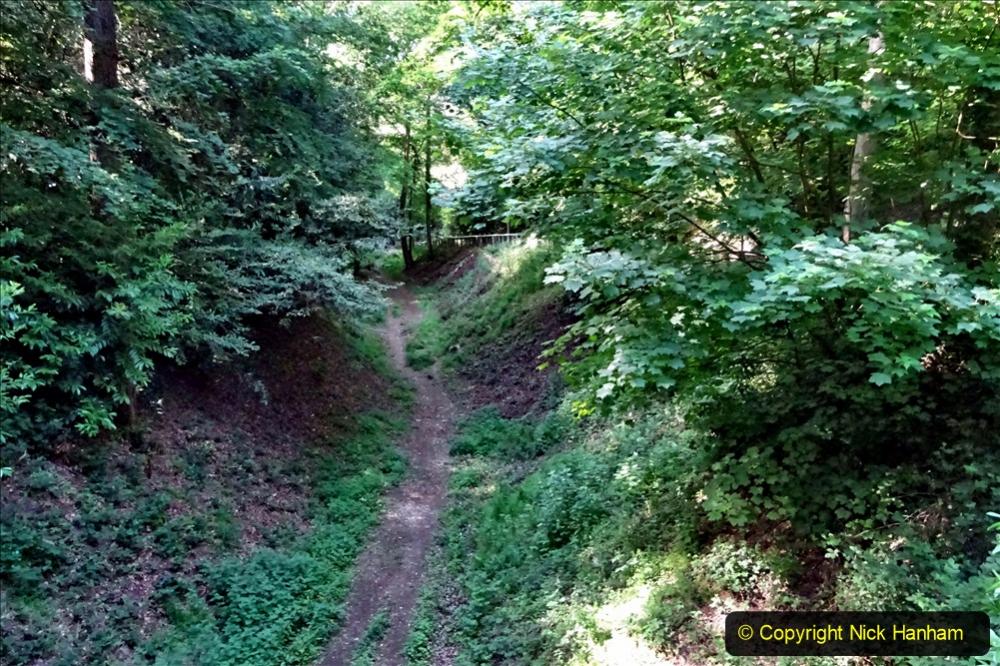 2020-05-27 Covid 19 Walks Alum Chine - Robert Louis Stevenson - View Point - Parkstone Heights. (17) 017