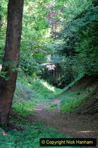 2020-05-27 Covid 19 Walks Alum Chine - Robert Louis Stevenson - View Point - Parkstone Heights. (18) 018