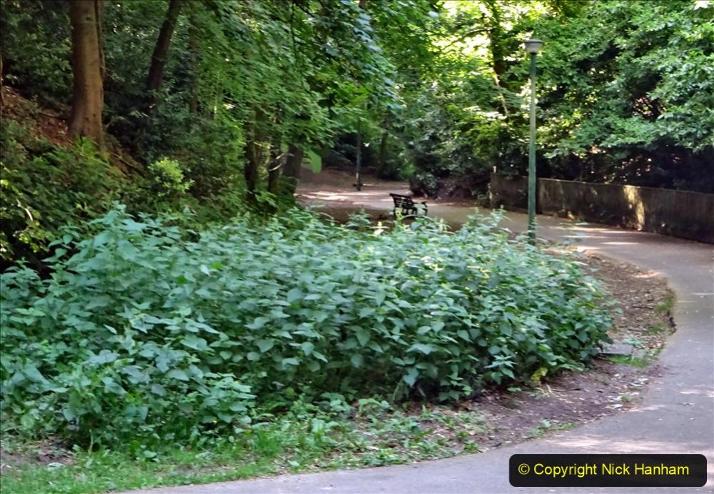 2020-05-27 Covid 19 Walks Alum Chine - Robert Louis Stevenson - View Point - Parkstone Heights. (20) 020