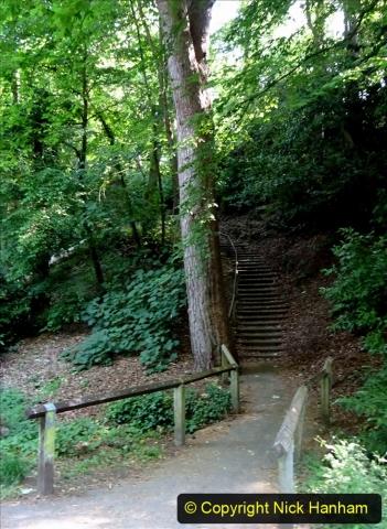 2020-05-27 Covid 19 Walks Alum Chine - Robert Louis Stevenson - View Point - Parkstone Heights. (27) 027