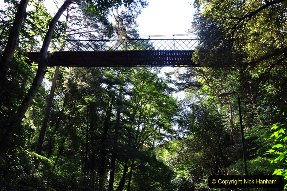 2020-05-27 Covid 19 Walks Alum Chine - Robert Louis Stevenson - View Point - Parkstone Heights. (28) 028
