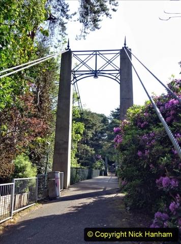 2020-05-27 Covid 19 Walks Alum Chine - Robert Louis Stevenson - View Point - Parkstone Heights. (31) 031