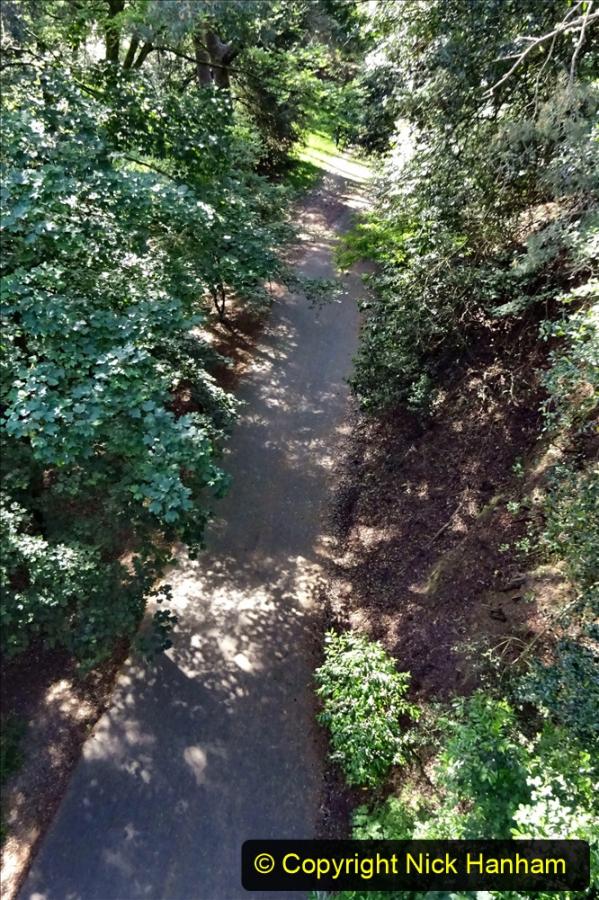 2020-05-27 Covid 19 Walks Alum Chine - Robert Louis Stevenson - View Point - Parkstone Heights. (33) 033