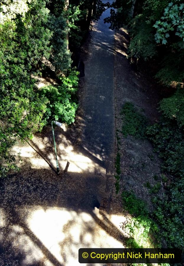 2020-05-27 Covid 19 Walks Alum Chine - Robert Louis Stevenson - View Point - Parkstone Heights. (34) 034