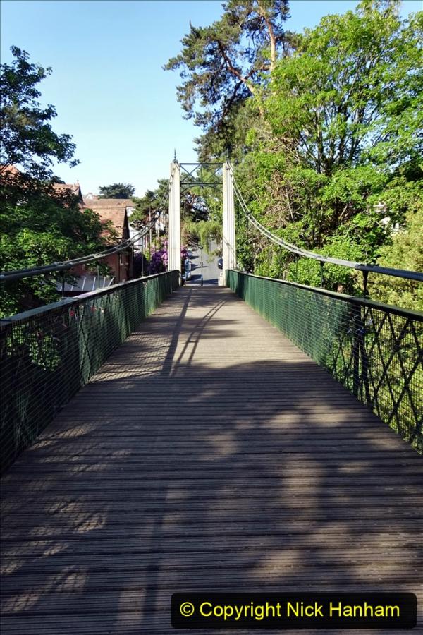 2020-05-27 Covid 19 Walks Alum Chine - Robert Louis Stevenson - View Point - Parkstone Heights. (35) 035