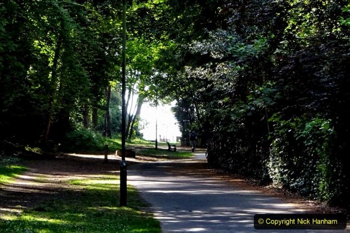 2020-05-27 Covid 19 Walks Alum Chine - Robert Louis Stevenson - View Point - Parkstone Heights. (41) 041