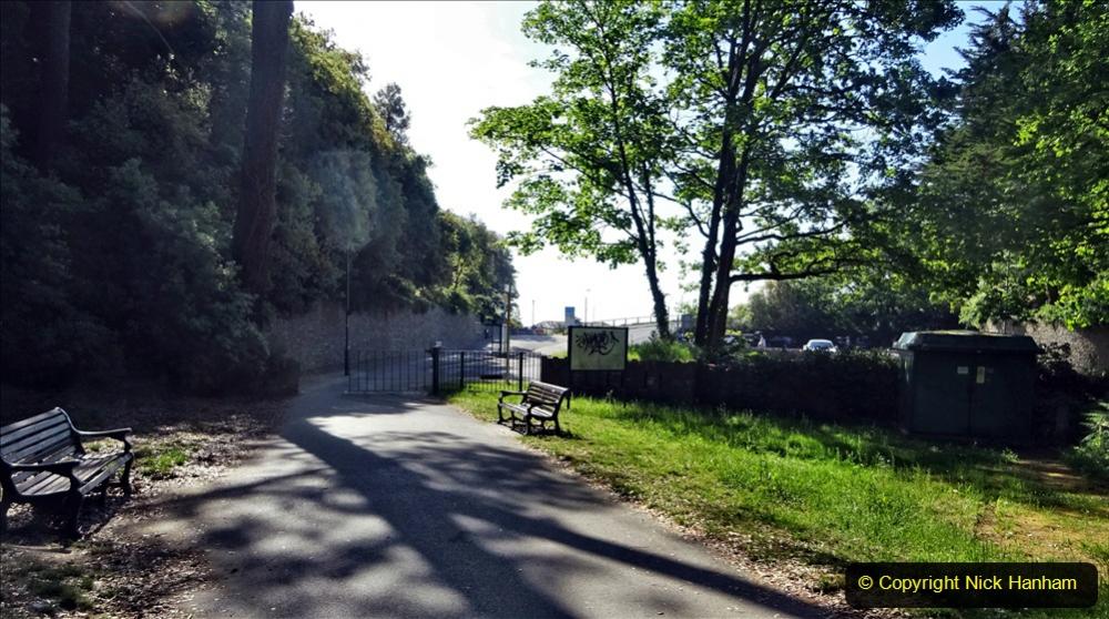 2020-05-27 Covid 19 Walks Alum Chine - Robert Louis Stevenson - View Point - Parkstone Heights. (42) 042