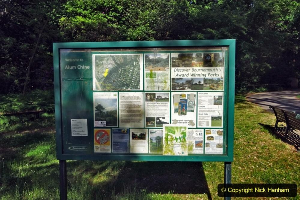 2020-05-27 Covid 19 Walks Alum Chine - Robert Louis Stevenson - View Point - Parkstone Heights. (43) 043
