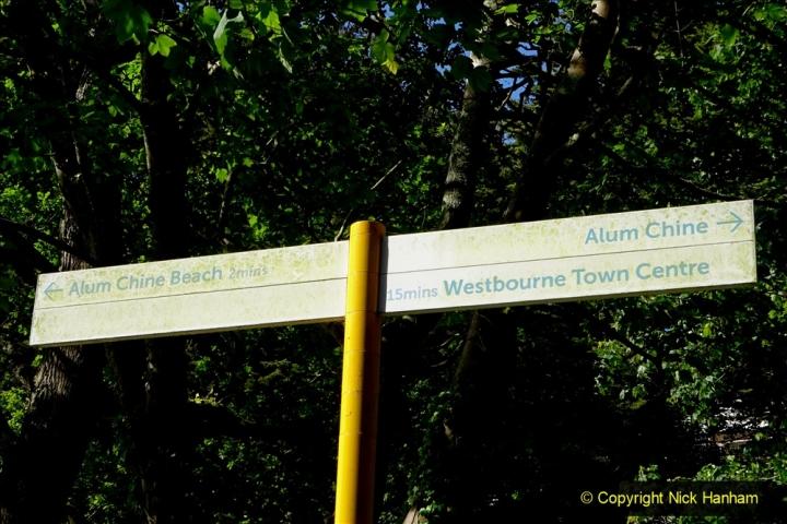 2020-05-27 Covid 19 Walks Alum Chine - Robert Louis Stevenson - View Point - Parkstone Heights. (44) 044