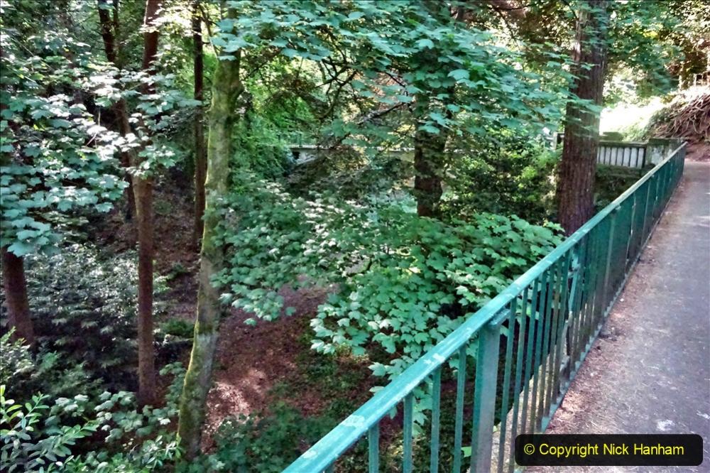 2020-05-27 Covid 19 Walks Alum Chine - Robert Louis Stevenson - View Point - Parkstone Heights. (6) 006