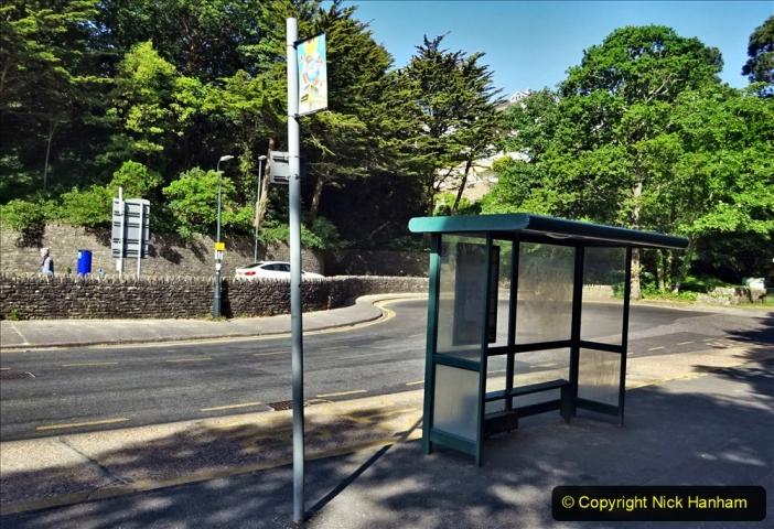 2020-05-27 Covid 19 Walks Alum Chine - Robert Louis Stevenson - View Point - Parkstone Heights. (60) 060