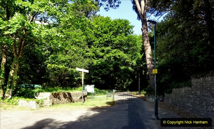 2020-05-27 Covid 19 Walks Alum Chine - Robert Louis Stevenson - View Point - Parkstone Heights. (61) 061
