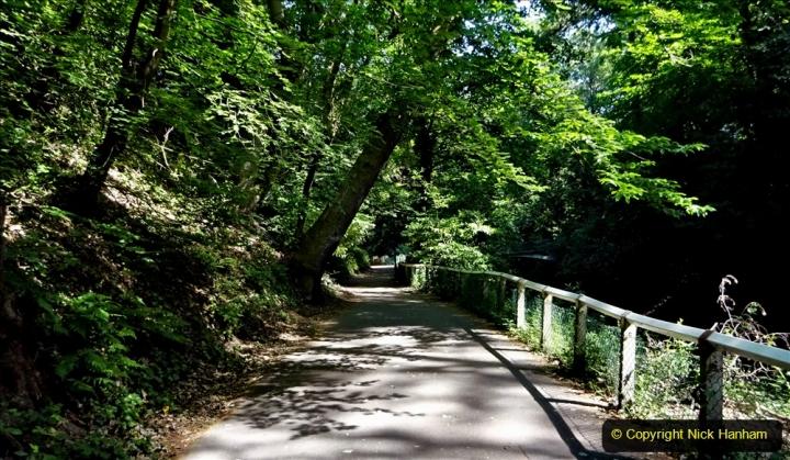2020-05-27 Covid 19 Walks Alum Chine - Robert Louis Stevenson - View Point - Parkstone Heights. (64) 064