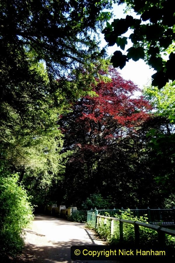 2020-05-27 Covid 19 Walks Alum Chine - Robert Louis Stevenson - View Point - Parkstone Heights. (65) 065