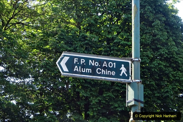 2020-05-27 Covid 19 Walks Alum Chine - Robert Louis Stevenson - View Point - Parkstone Heights. (67) 067