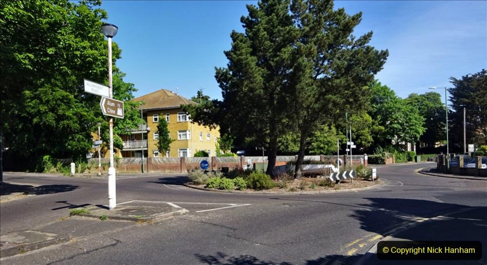 2020-05-27 Covid 19 Walks Alum Chine - Robert Louis Stevenson - View Point - Parkstone Heights. (71) 071