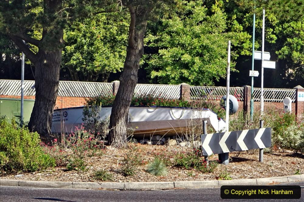 2020-05-27 Covid 19 Walks Alum Chine - Robert Louis Stevenson - View Point - Parkstone Heights. (72) 072