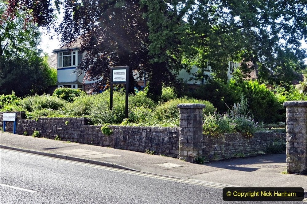 2020-05-27 Covid 19 Walks Alum Chine - Robert Louis Stevenson - View Point - Parkstone Heights. (74) 074