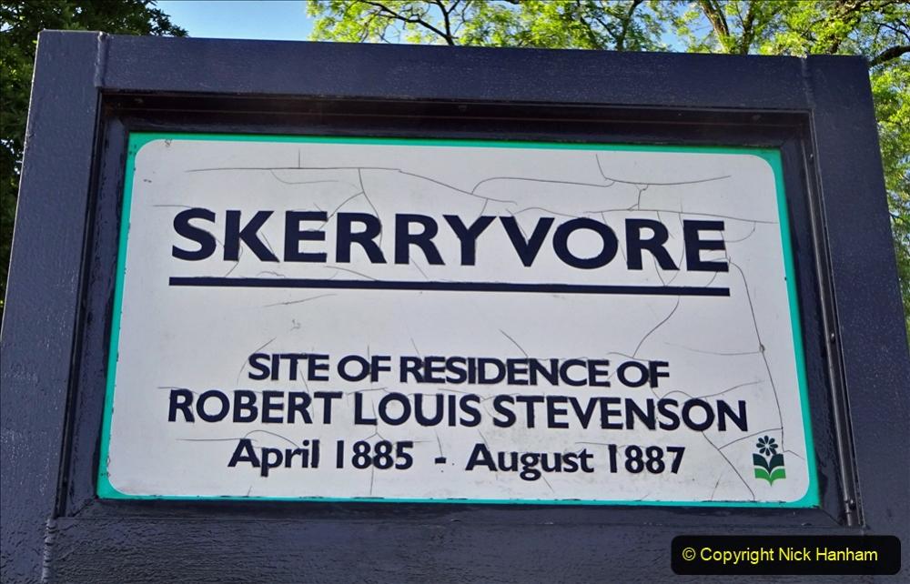 2020-05-27 Covid 19 Walks Alum Chine - Robert Louis Stevenson - View Point - Parkstone Heights. (75) 075