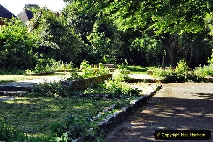 2020-05-27 Covid 19 Walks Alum Chine - Robert Louis Stevenson - View Point - Parkstone Heights. (76) 076