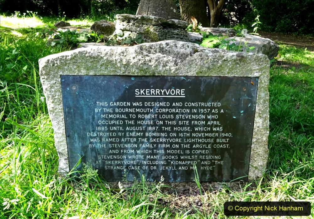 2020-05-27 Covid 19 Walks Alum Chine - Robert Louis Stevenson - View Point - Parkstone Heights. (77) 077
