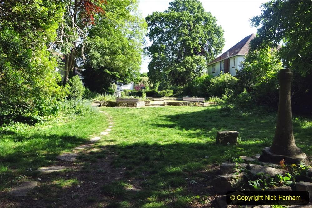 2020-05-27 Covid 19 Walks Alum Chine - Robert Louis Stevenson - View Point - Parkstone Heights. (78) 078