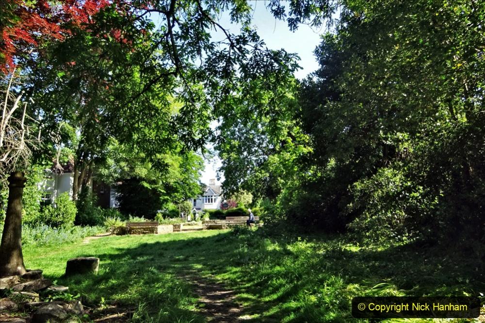 2020-05-27 Covid 19 Walks Alum Chine - Robert Louis Stevenson - View Point - Parkstone Heights. (80) 080