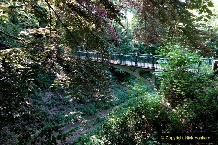 2020-05-27 Covid 19 Walks Alum Chine - Robert Louis Stevenson - View Point - Parkstone Heights. (9) 009