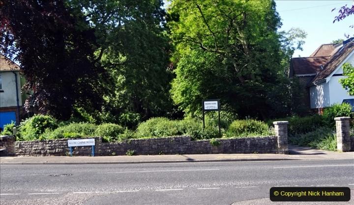 2020-05-27 Covid 19 Walks Alum Chine - Robert Louis Stevenson - View Point - Parkstone Heights. (91) 091