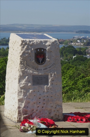 2020-05-27 Covid 19 Walks Alum Chine - Robert Louis Stevenson - View Point - Parkstone Heights. (95) 095