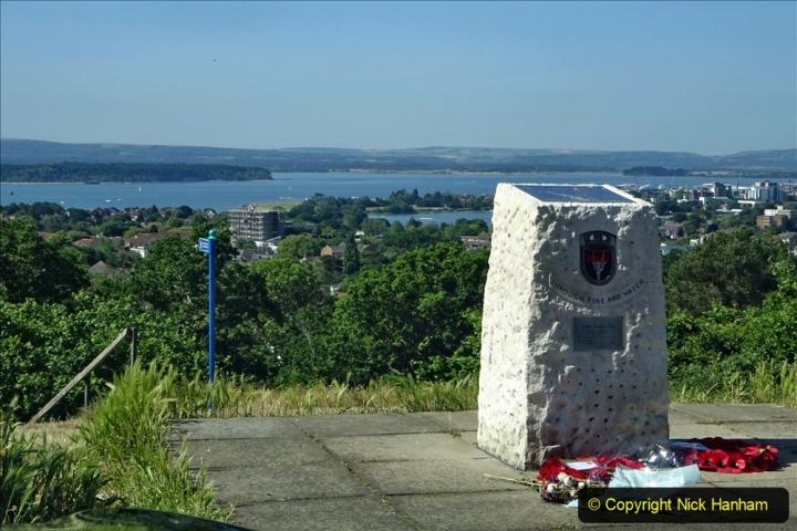 2020-05-27 Covid 19 Walks Alum Chine - Robert Louis Stevenson - View Point - Parkstone Heights. (96) 096