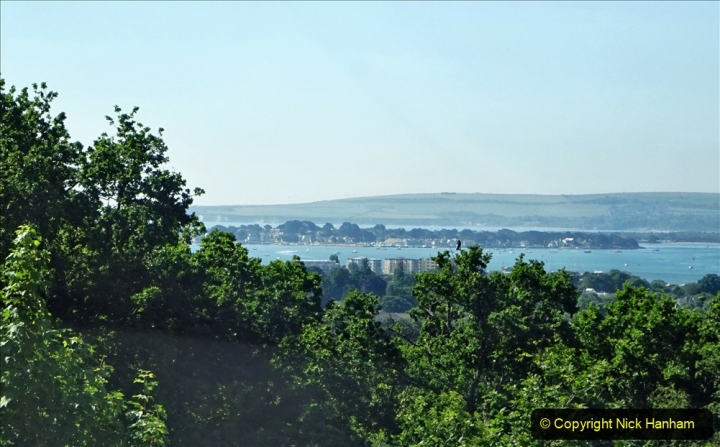 2020-05-27 Covid 19 Walks Alum Chine - Robert Louis Stevenson - View Point - Parkstone Heights. (97) 097