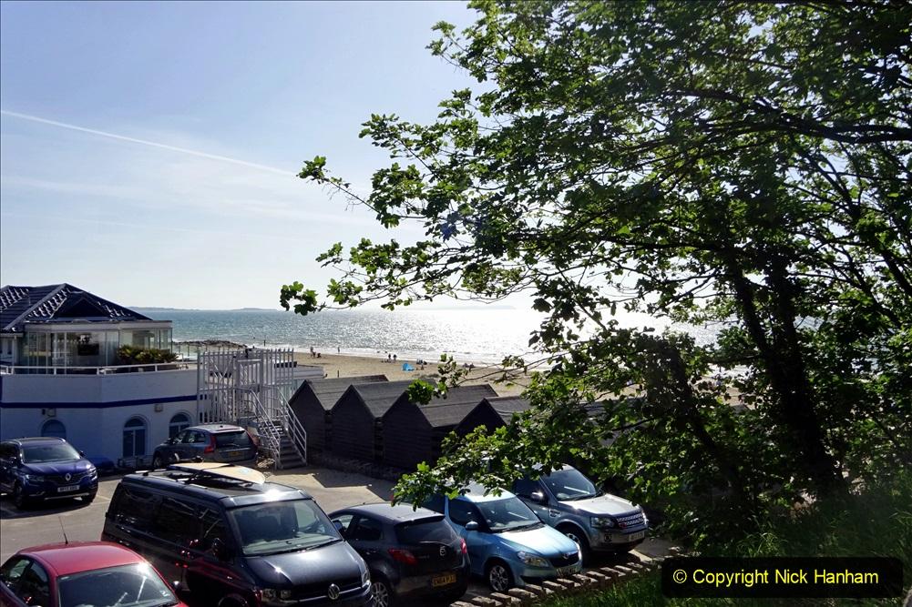 2020-05-28 Covid 19 Walk Branksome, Poole Dorset to Branksome Chine sea front. (33) 001