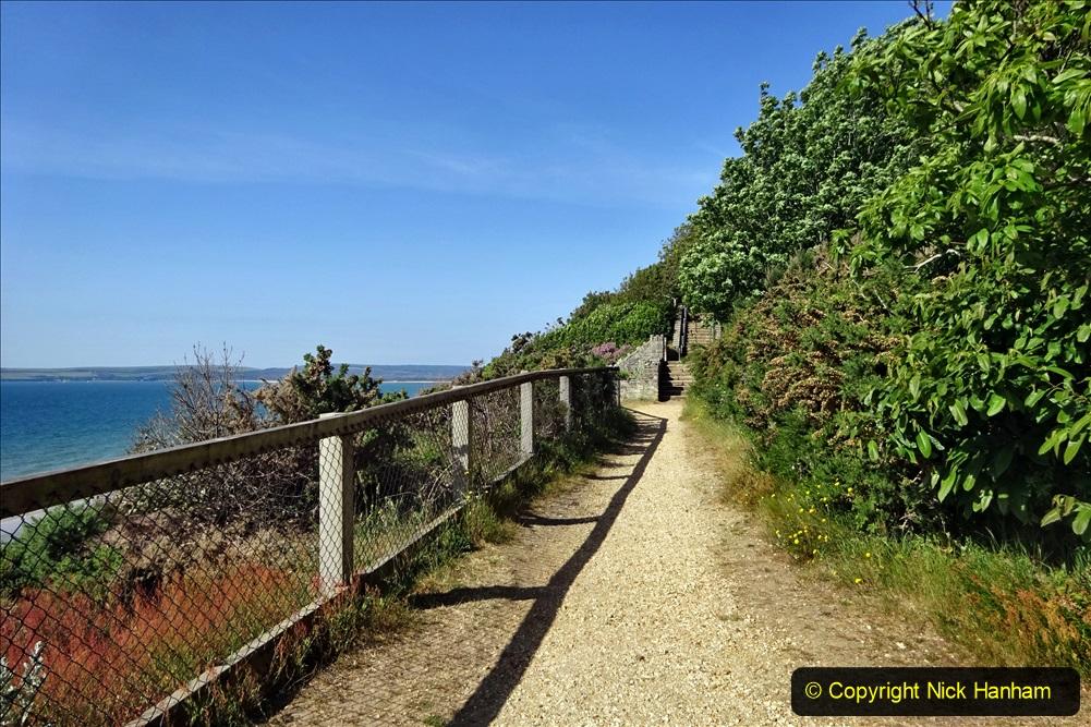 2020-05-28 Covid 19 Walk Branksome, Poole Dorset to Branksome Chine sea front. (38) 001