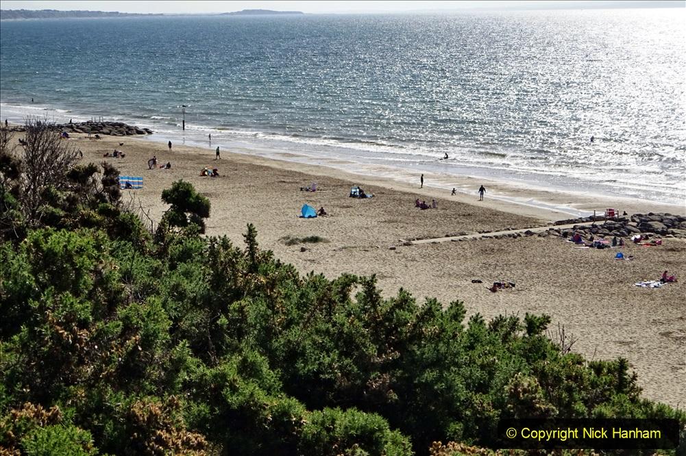 2020-05-28 Covid 19 Walk Branksome, Poole Dorset to Branksome Chine sea front. (45) 001