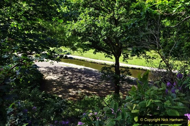 2020-05-28 Covid 19 Walk Branksome, Poole Dorset to Branksome Chine sea front. (32) 001