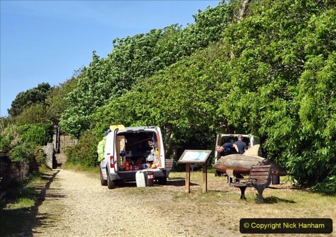 2020-05-28 Covid 19 Walk Branksome, Poole Dorset to Branksome Chine sea front. (37) 001