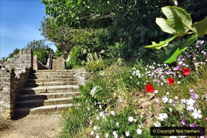2020-05-28 Covid 19 Walk Branksome, Poole Dorset to Branksome Chine sea front. (39) 001