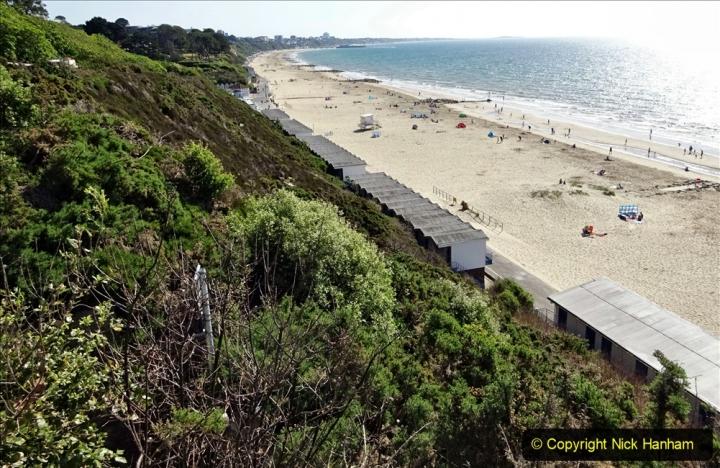 2020-05-28 Covid 19 Walk Branksome, Poole Dorset to Branksome Chine sea front. (46) 001