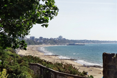 2020-05-28 Covid 19 Walk Branksome, Poole Dorset to Branksome Chine sea front. (52) 001