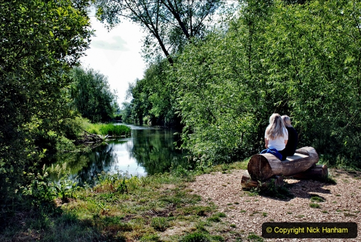2020-June 08 Covid 19 Walk Canford Park SANG Bearwood, Poole, Dorset. (36) 036