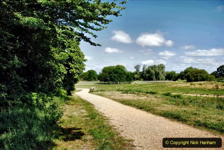 2020-June 08 Covid 19 Walk Canford Park SANG Bearwood, Poole, Dorset. (4) 004