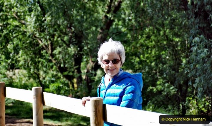 2020-June 08 Covid 19 Walk Canford Park SANG Bearwood, Poole, Dorset. (45) 045