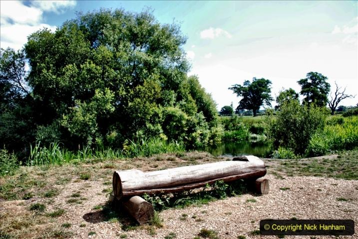 2020-June 08 Covid 19 Walk Canford Park SANG Bearwood, Poole, Dorset. (52) 052