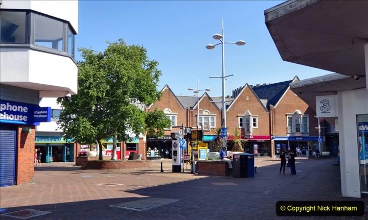 0012020-06-25 Covid 19 Walk Home-Poole Park-Poole Town-Poole Quay-Baiter-Home. (66) 066