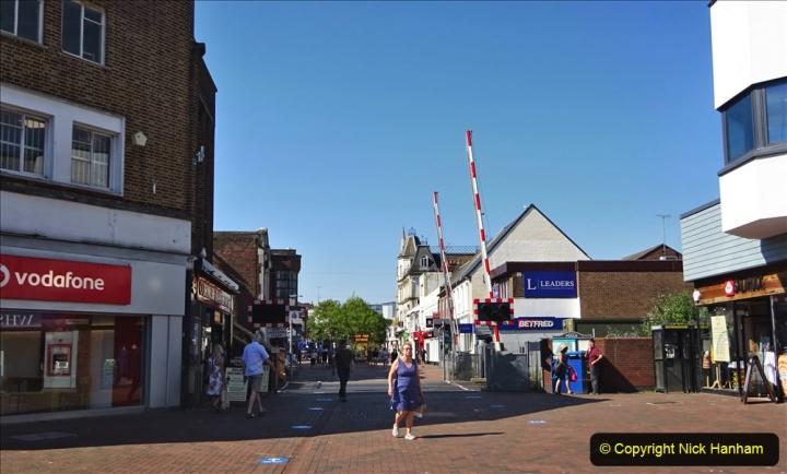 0012020-06-25 Covid 19 Walk Home-Poole Park-Poole Town-Poole Quay-Baiter-Home. (67) 067