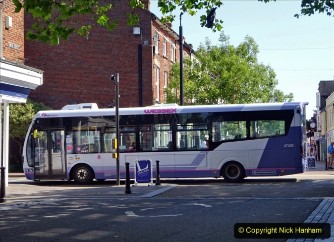 0012020-06-25 Covid 19 Walk Home-Poole Park-Poole Town-Poole Quay-Baiter-Home. (86) 086