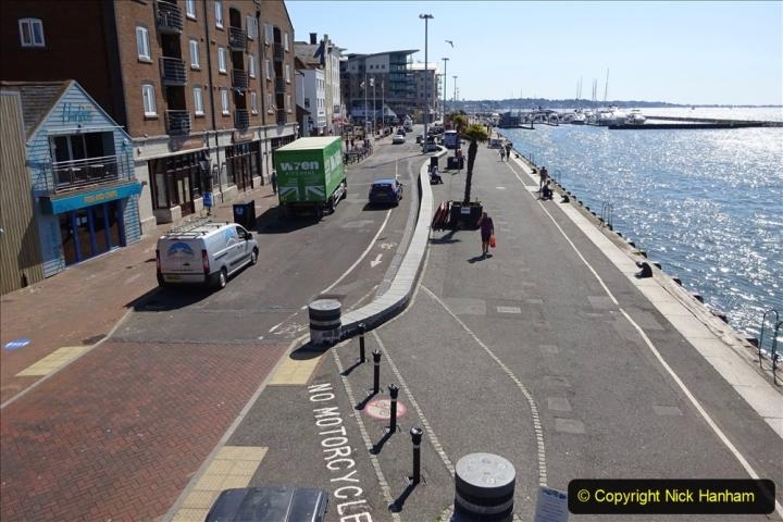 0012020-06-25 Covid 19 Walk Home-Poole Park-Poole Town-Poole Quay-Baiter-Home. (98) 098