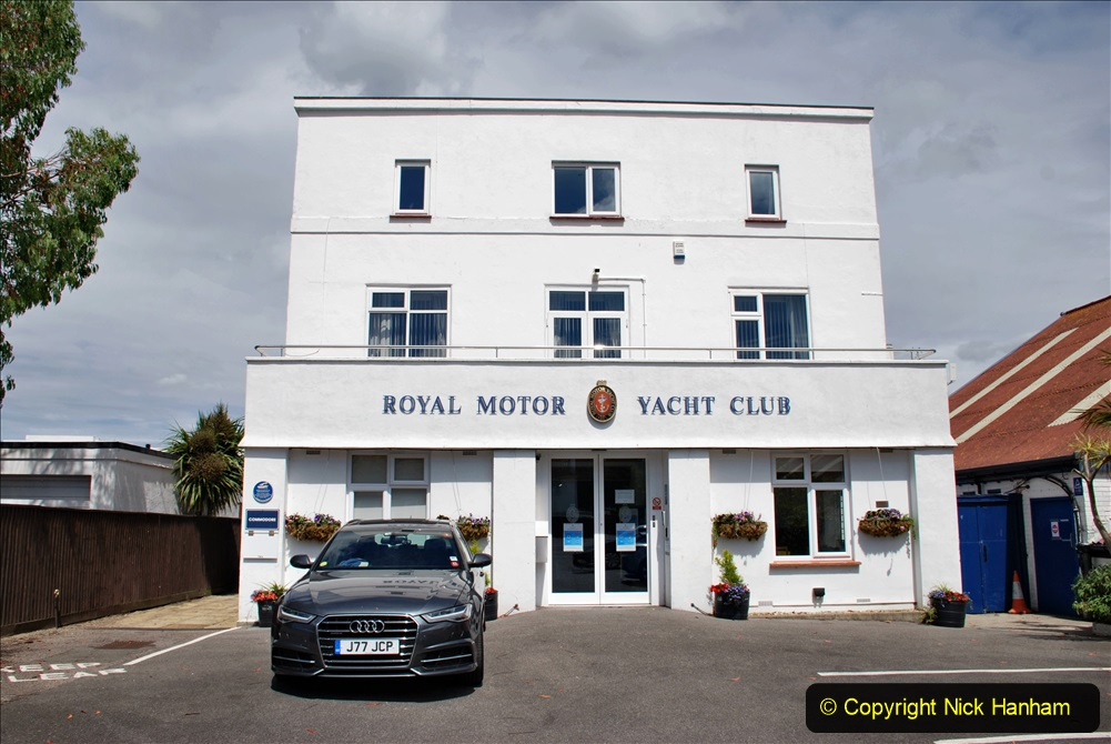 2020-07-07 Poole and Flying Boats. (17a) 018 Sandbanks, Royal Motor Yacht Club.